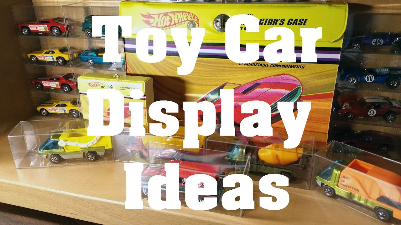 Toy Cars And Hot Wheels Display Idea Video No 117 June 16th