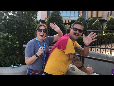 #24 Universal Studios Orlando/I met Tim Tracker! 🌎👨🏻