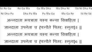 pitru Devo bhava instru/karaoke