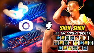 CHINESE LEE SIN + HAND CAM + URF - ShenShan LEE SIN MONTAGE - League of Legends
