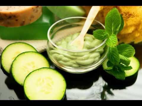 Anti aging cucumber mask
