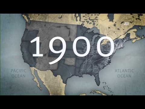 Educational Film: The History of the USA - Industrial Superpower