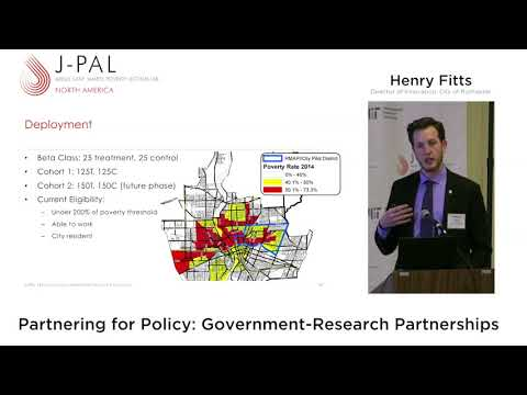 Partnering for Policy: Government-Research Partnerships