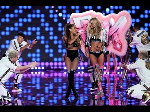 Видео: Problem - Ariana Grande - Victorias Secret Fashion Show- 2014-LONDON