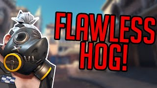 one of my m๐st flawless games as hog (Overwatch)