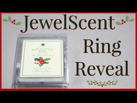 JewelScent Ring Reveal - Mistletoe Kiss Wax Tarts!