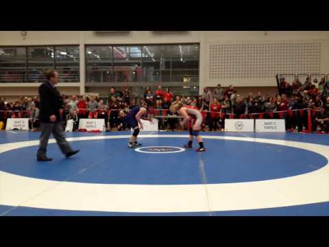 2015 Senior National Championships: 60 kg Taylor Cartwright vs. Indira Moores