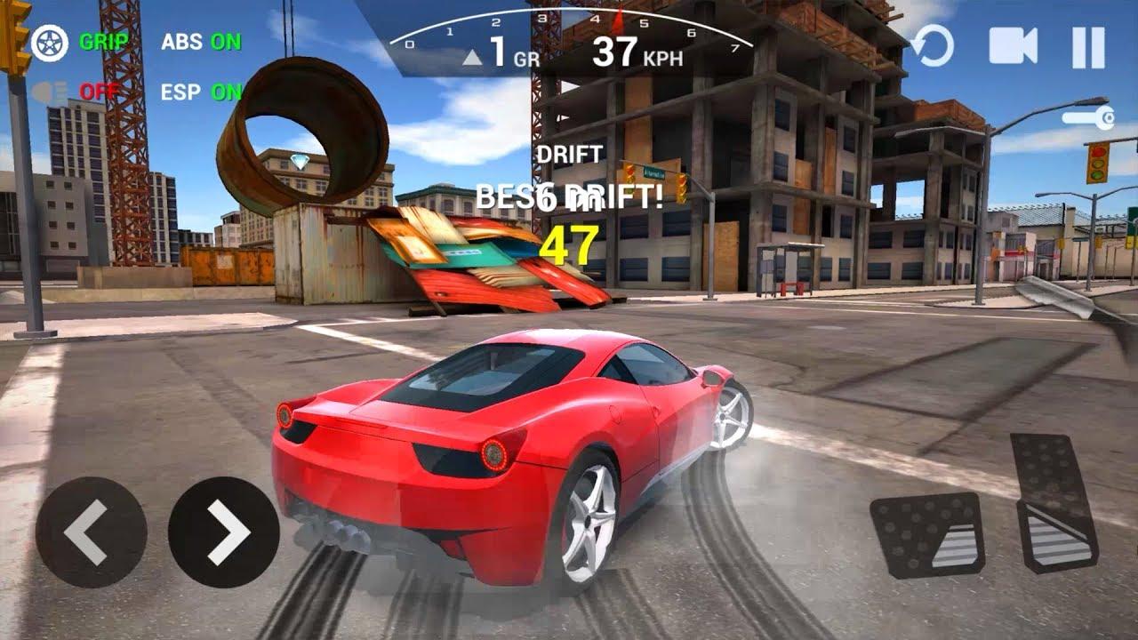 Car driving simulator 3d ferrari new car unlocked for Simulatore 3d