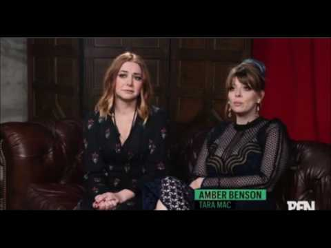 Amber Benson & Alyson Hannigan discuss Willow/Tara at 20th Anniversary