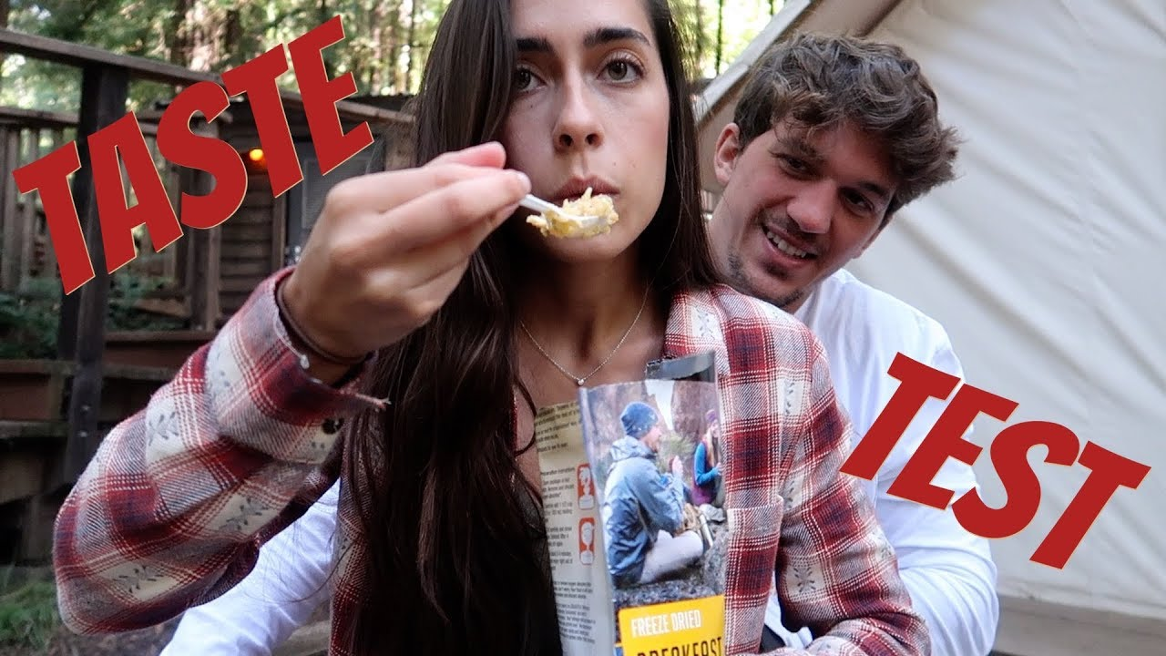 Eating Freeze Dried Food for 24 Hours!!