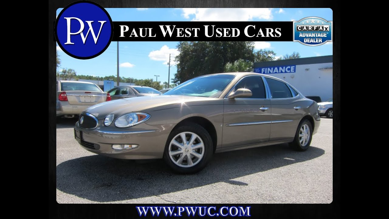 Buick lacrosse cxl gainesville fl paul west used cars