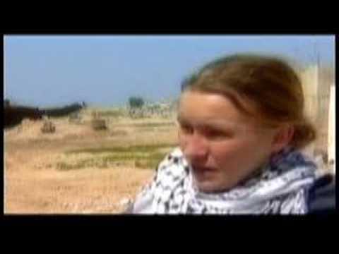Israeli Bulldozer Driver Murders American Peace Activist