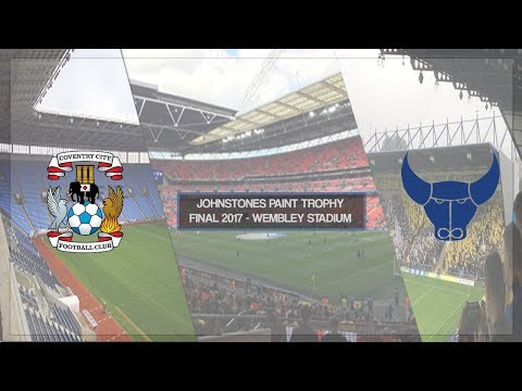 COVENTRY CITY VS OXFORD UNITED - JOHNSTONES PAINT TROPHY FINAL 2017