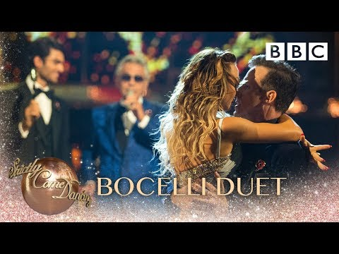 Andrea Bocelli Duets 'Fall On Me' With His Son Matteo  - BBC Strictly 2018