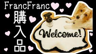 【モノトーン】フランフラン購入品紹介♡Amazonでポチったものをリメイクしてみた!!!!!🐶💕 thumbnail