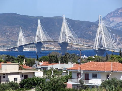 Patra (Patras) , beautiful city in Greece,  Achaia , Western  Peloponnese,  ferry connections