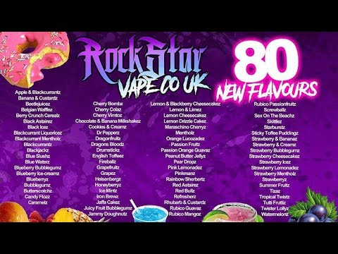 Rockstar Vape E-Liquid Review