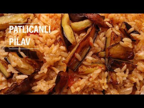 How to make eggplant pilaf - Pilaw - SevgiilePY