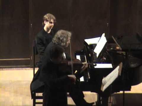 Pavel Berman / Mikhail Voskresensky - Schumann Violin sonata No.1