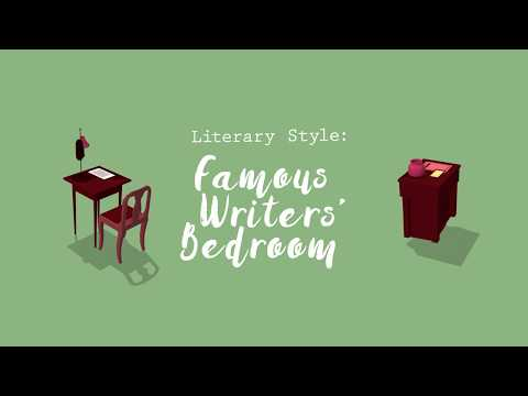 Literary Home Decor Ideas From 8 Famous Writers' Bedrooms  | HomeAdvisor
