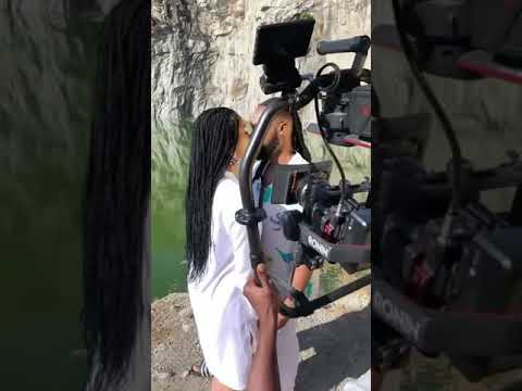 """Alluring scene from Snippet of flavour's new video """" Omo T'emi """""""
