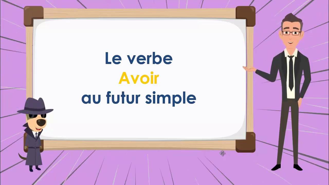 Le Verbe Etre Au Futur To Be Futur Simple Tense French Conjugation Youtube