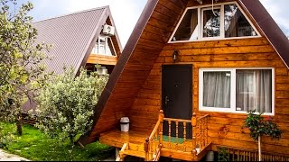 Обзор домиков для отдыха в Абхазии 2016 частный сектор(Ссылка на официальный сайт http://pueblo-mojito.ru/ Уютные деревянные домики прям на берегу Чёрного моря в Абхазии..., 2015-03-10T09:27:19.000Z)