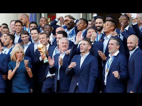 Campeões do Mundo são heróis nacionais
