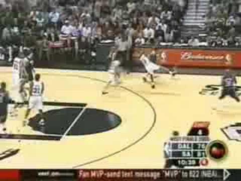 Mavericks @ Spurs WCF 2003 Game 5