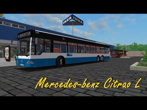 Omsi 2 baumgarten mercedes citaro l cp fun music for Mercedes benz independence blvd