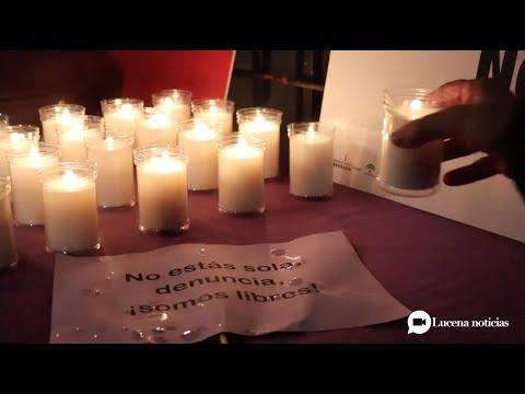 VÍDEO: Concentración contra la violencia machista en la Plaza de Archidona