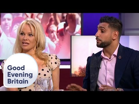 Pamela Anderson and Amir Khan Analyse England's World Cup Chances  Good Evening Britain