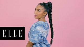 vuclip Tied Up Braids with London Zhiloh | Braid Star | ELLE