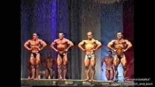 Чемпионат России по бодибилдингу 1999, Челябинск, 75 кг