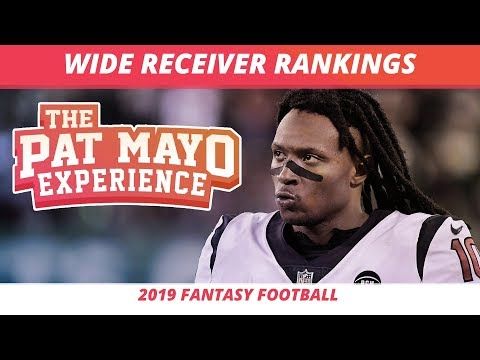 2019 Fantasy Football WR Rankings, Tiers, Sleepers, Busts And Debate — First Look