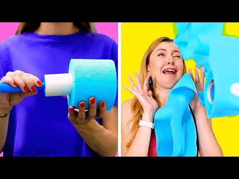 BEST PRANKS AND FUNNY TRICKS || Funniest DIY Tricks on Friends and Family by 123 GO!
