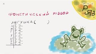 Фонетический разбор | Как делать фонетический разбор