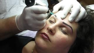 Stilizare sprancene forma sprancenelor tatuaj Zarescu Dan 0745001236 http://www.machiajtatuaj.ro