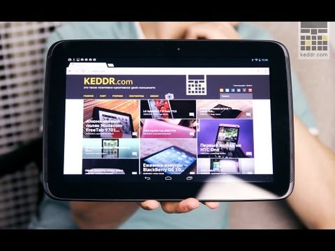 Обзор Google Nexus 10
