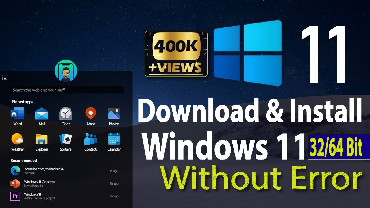 How to download windows 11 & Install 2020