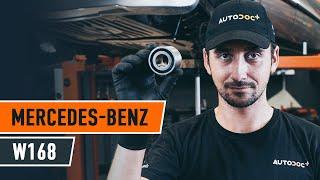 Ako vymeniť zadné ložisko kolesa na MERCEDES W168 [NÁVOD AUTODOC]