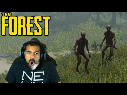OMFG! THESE WILD PEOPLE ARE F#%KING WITH ME! | The Forest | #2