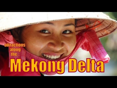 Mekong Delta Travel Video: Things to do along the Mekong, Vietnam Top Attractions