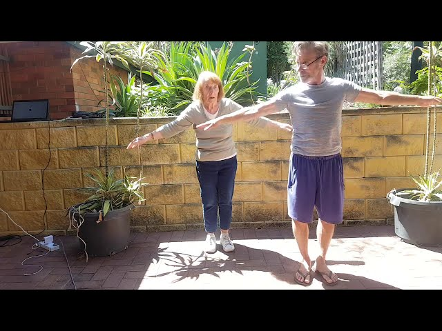 Barre Pilates for over 90yrs only, small group, group changes often so meet lots of new faces