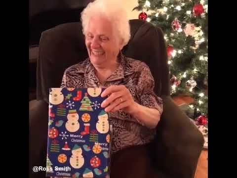 Guy Gives 91 Year Old Grandma The Best Christmas Present Ever