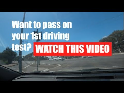 PASS 1ST DRIVING TEST In Australia, WATCH THIS TIPS! CHAPTER 1