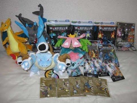 Japan Pokemon Center Mega Charizard X Y Venusaur Plush Toy Charm Figure Review