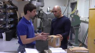 College Student Invents Building Material