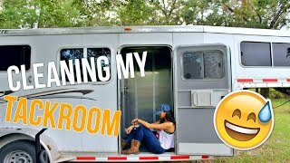 How To Clean The Tack Room In A Horse Trailer