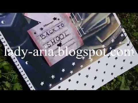 ~136 Back 2 School: DIY Notebooks